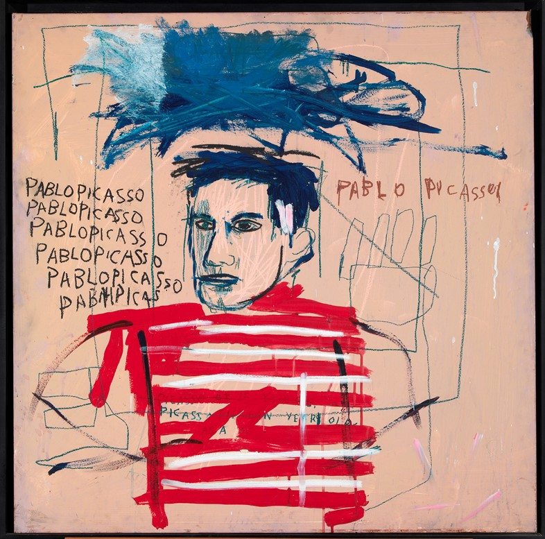 10. Jean-Michel Basquiat, Untitled (Pablo Picasso)
