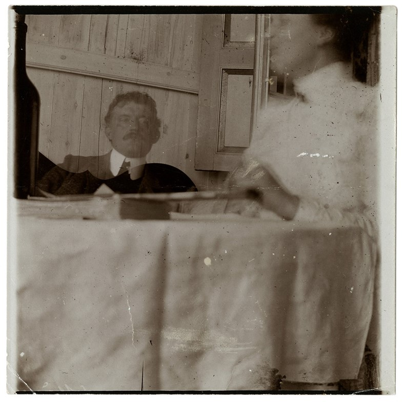 12. Self-Portrait with Housekeeper