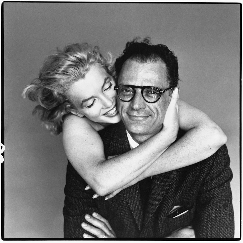 Marilyn-Monroe-and-Arthur-Miller,-May-1957