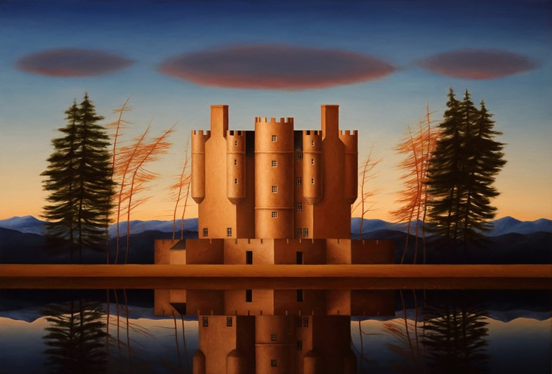 Renny-Tait.-Braemar-castle.-2016.--Oil-on-canvas.-