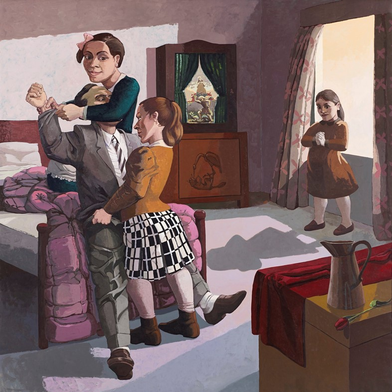 Paula Rego' The Family' 1988 (c) Paula Rego, Court