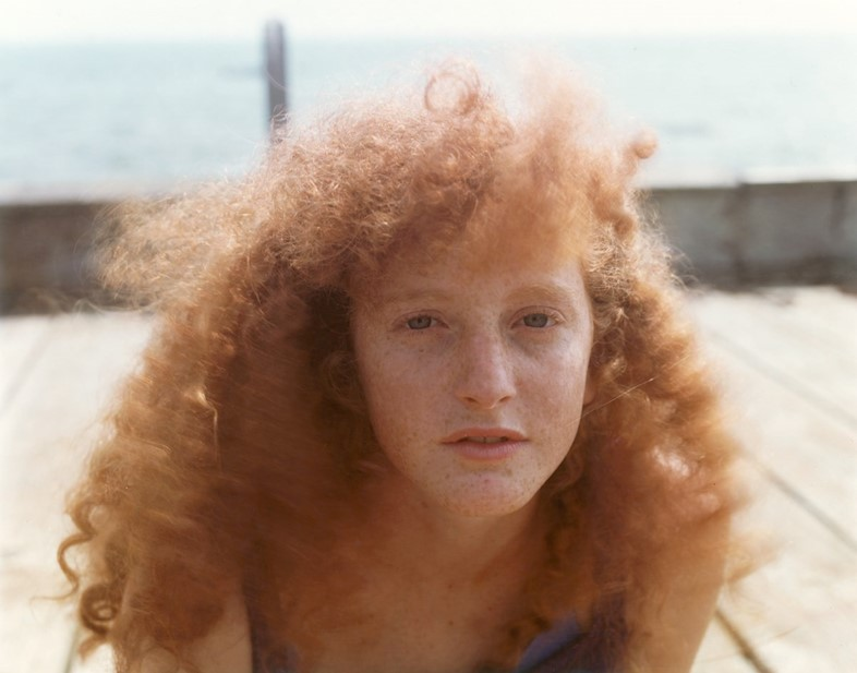Joel Meyerowitz, from the series Red Heads, 1991.