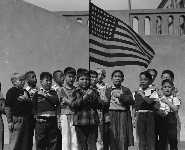 7. Dorothea Lange San Francisco, California. Flag