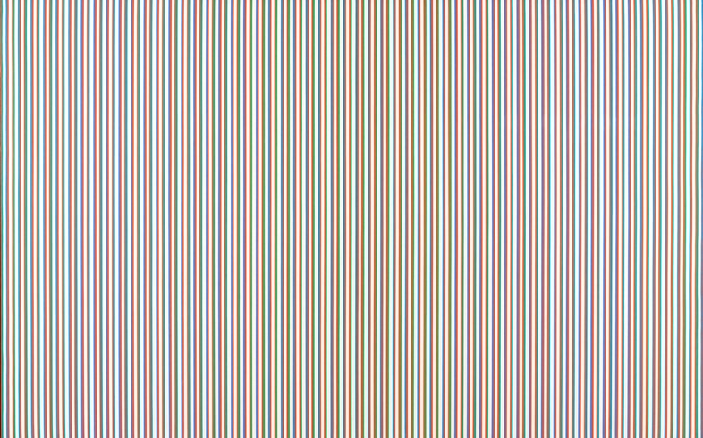 Bridget Riley, Late Morning 1967-8