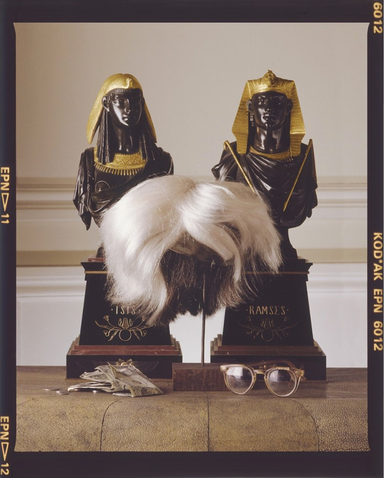 Andy-Warhol's-Wig,-Glasses-and-Money