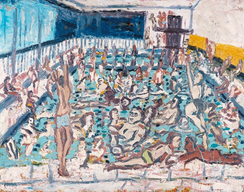 Leon Kossoff - Children_s Swimming Pool, Autumn Af