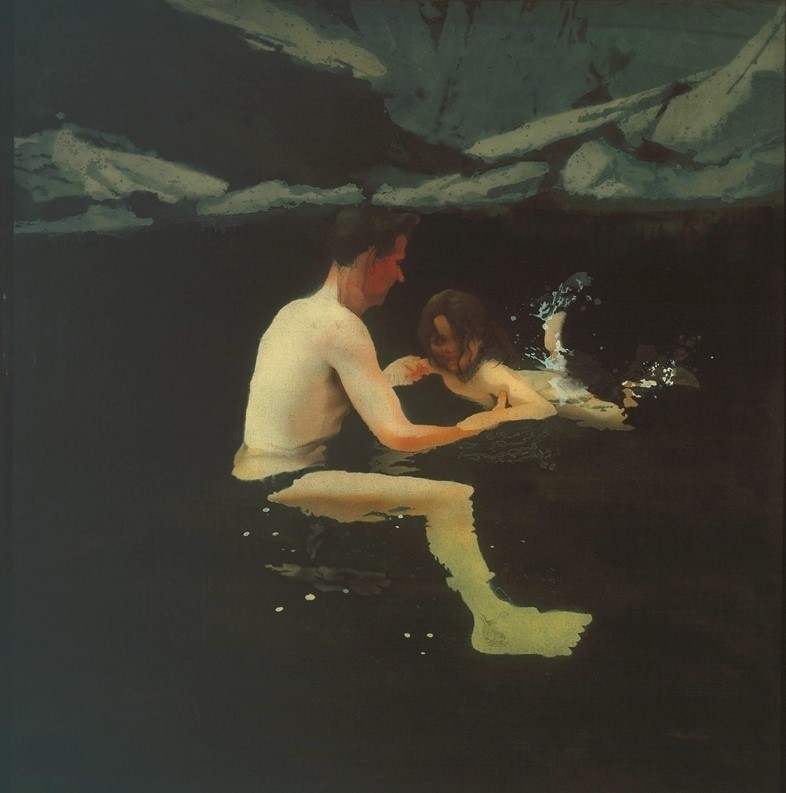 Michael Andrews - Melanie and Me Swimming 1978-9