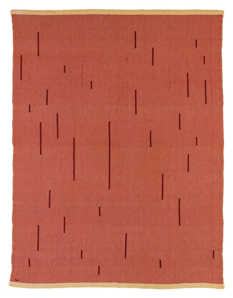 Anni-Albers, With Verticals, 1946