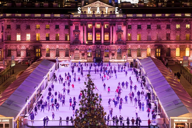 4. Skate at Somerset House with Fortnum & Mason ©