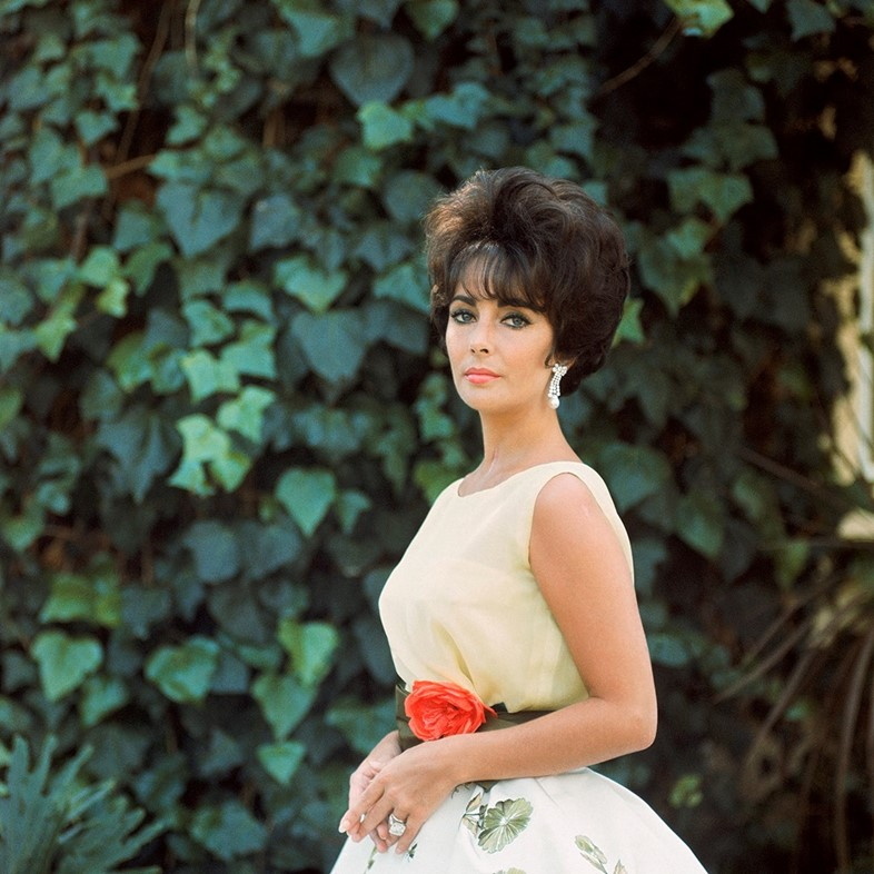 'Elizabeth Taylor in Yellow with Ivy, Side 1', 196