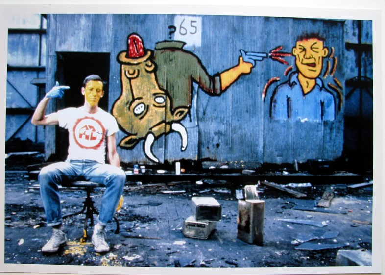 KW_DW_David Wojnarowicz on Hudson River pier_HQ