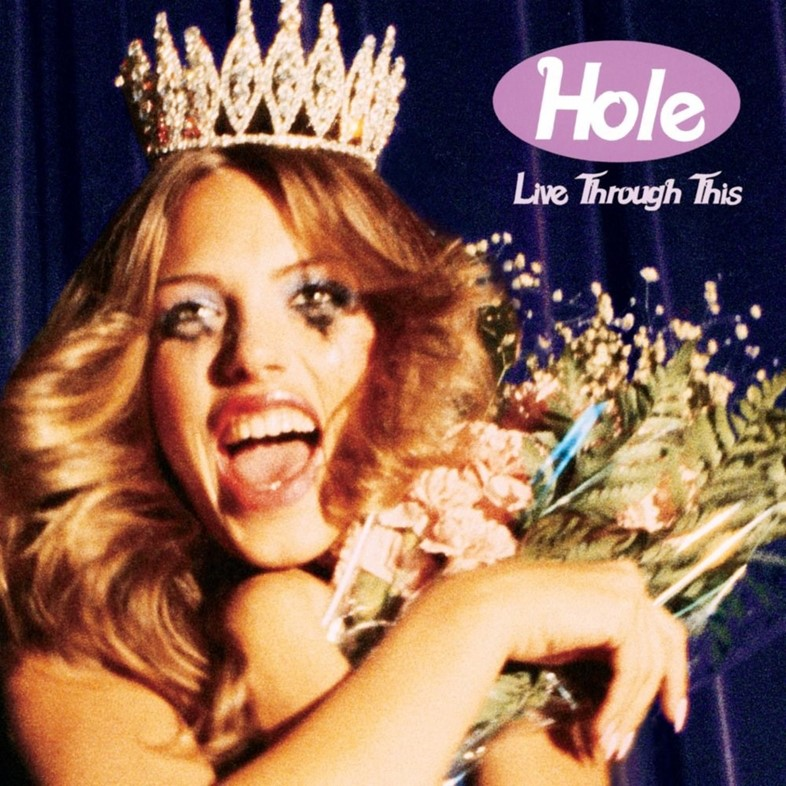 Live Through This Hole album artwork Ellen von Unwerth