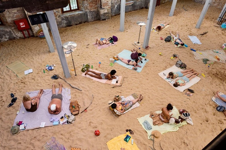 Sun, Sea and Sand at the Lithuania Pavilion