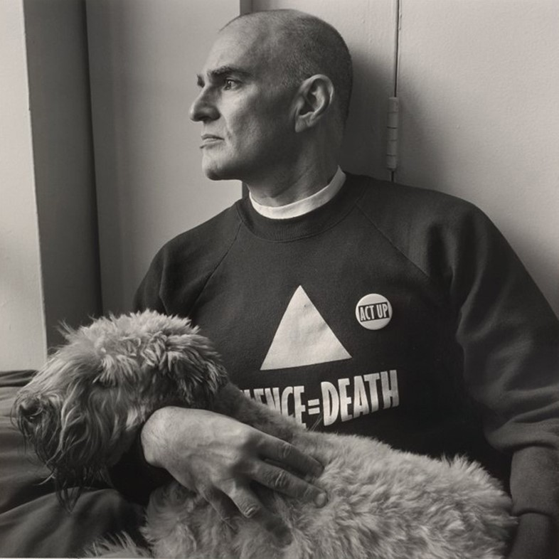 Giard Larry Kramer NYC 1989