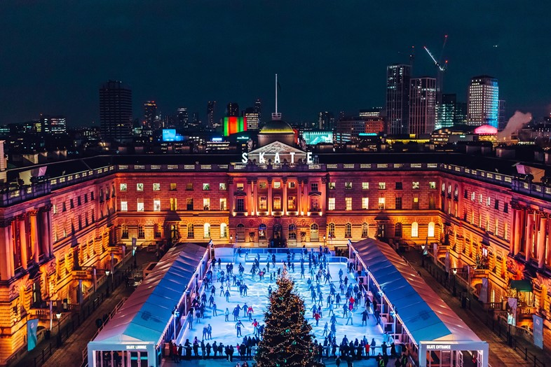 2. Skate at Somerset House with Fortnum & Mason ©
