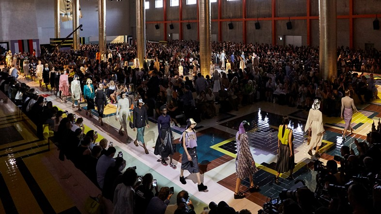 Prada Womenswear SS20 fashion show_parade