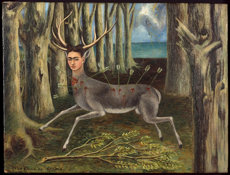 Schirn_Presse_Frida_Kahlo_The_little_Deer_1946_pho