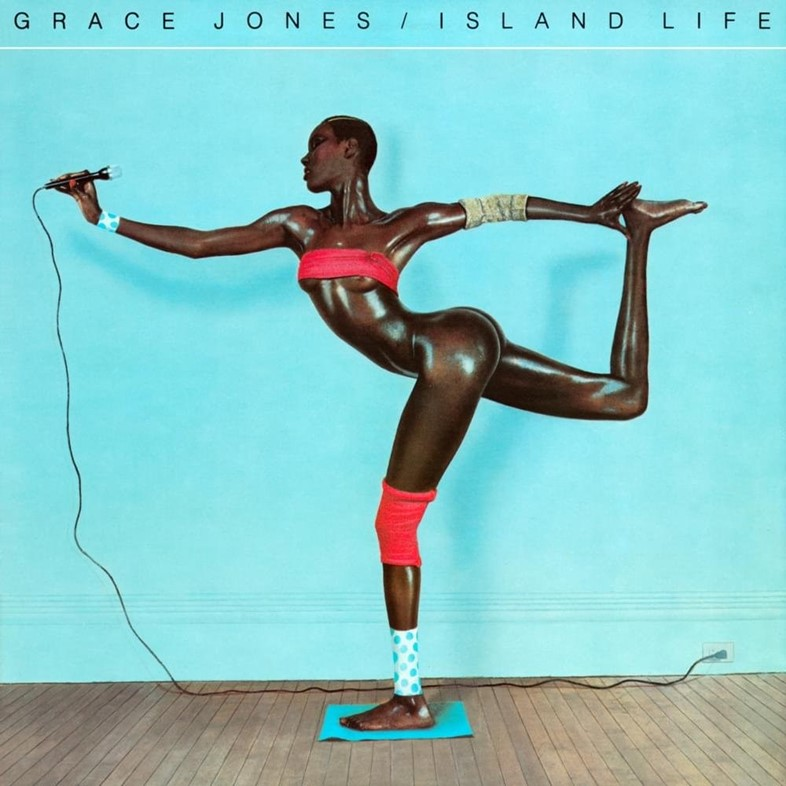 Grace Jones Island Life 1985 album cover
