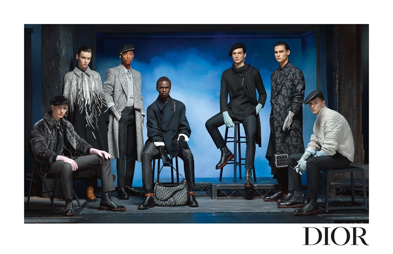 DIOR MEN'S WINTER 2020 2021 ADVERTISING CAMPAIGN B