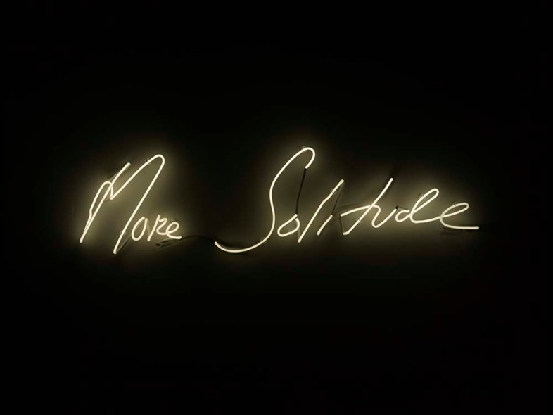 Tracey Emin, More Solitude