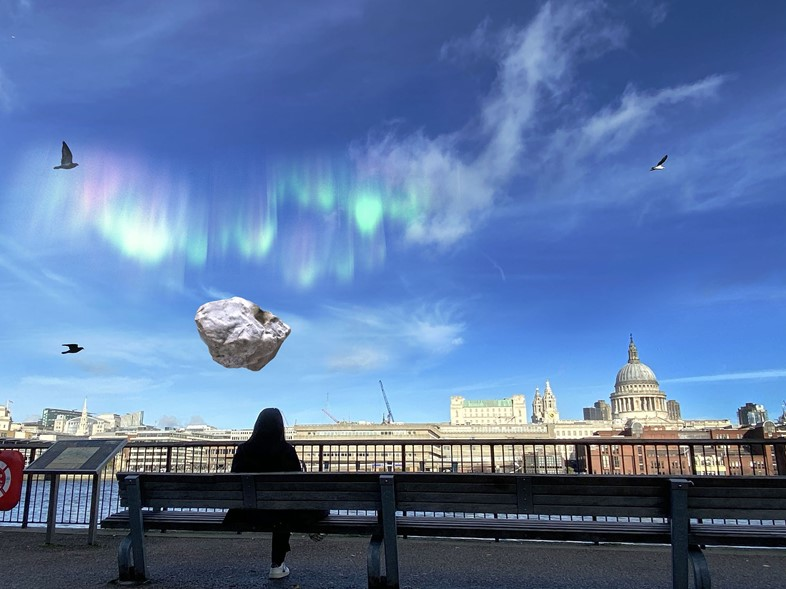 Olafur Eliasson, Caring Northern Light and Lucky