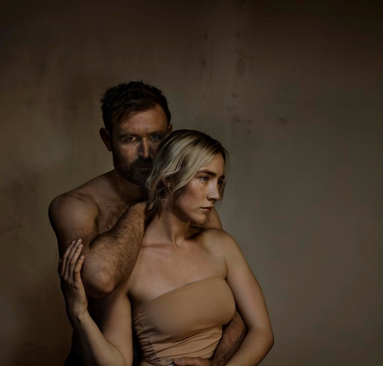 The Tragedy of Macbeth. James McArdle and Saoirse Ronan. Pho