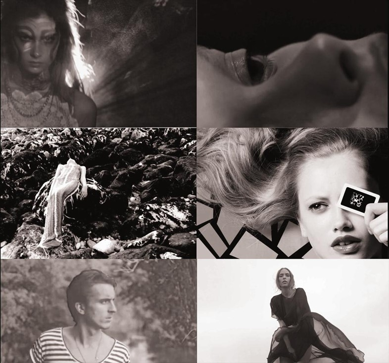 A collage of film stills from Video ReSee
