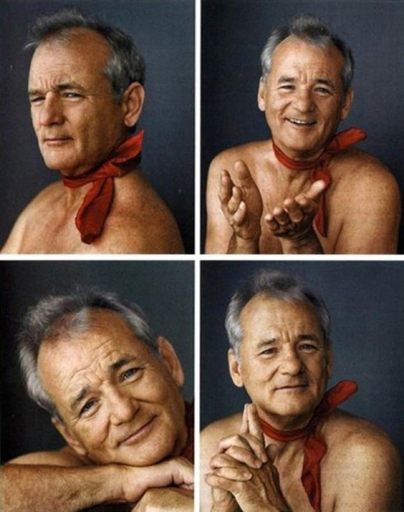 Bill Murray\'s Christmas Card | AnOther