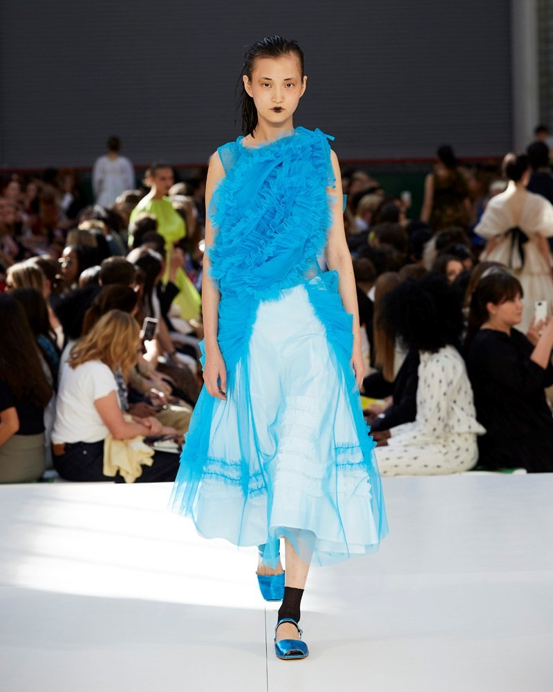 Molly Goddard Spring/Summer 2020 SS20 show collection LFW