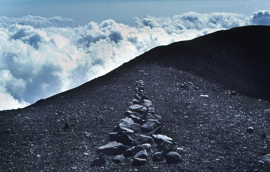Richard Long, A Line in Japan, 1979