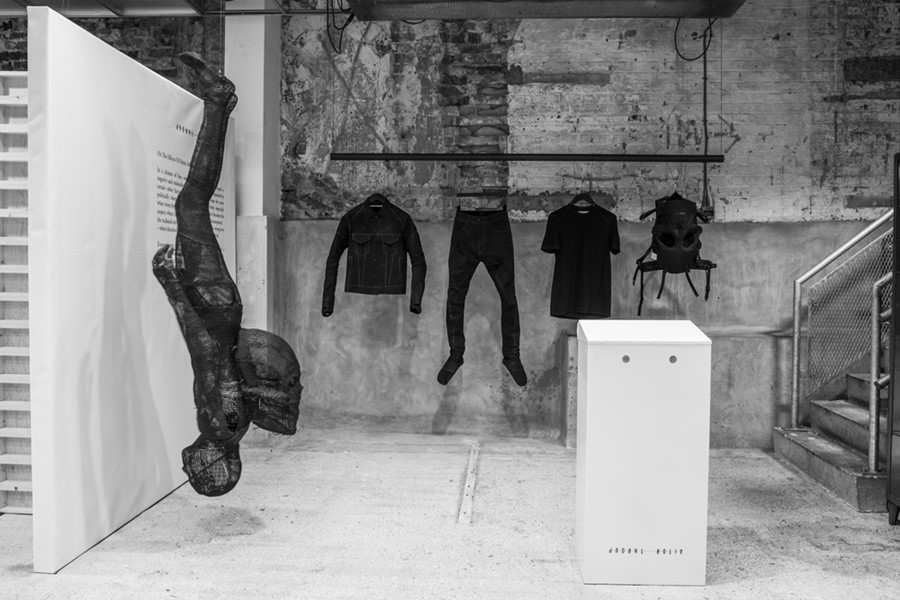 Aitor Throup at Dover Street Market