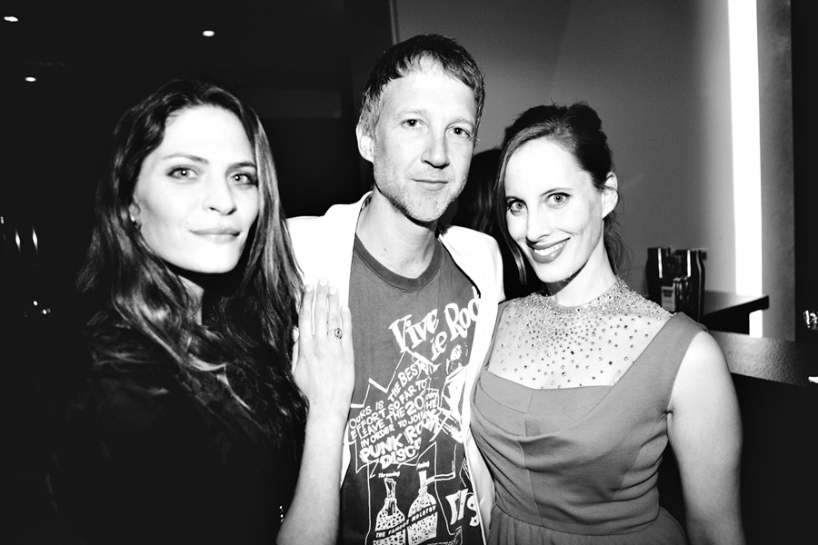 Frankie Rayder, Jefferson Hack and Liz Goldwyn at the AnOthe