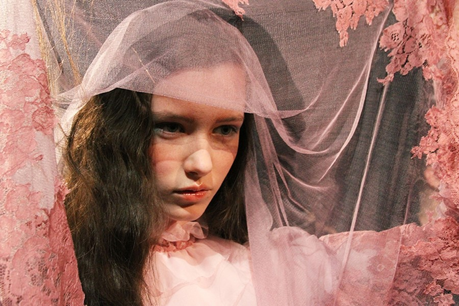 James Pecis & Rosie Vogel on the Meadham Kirchhoff Carnival