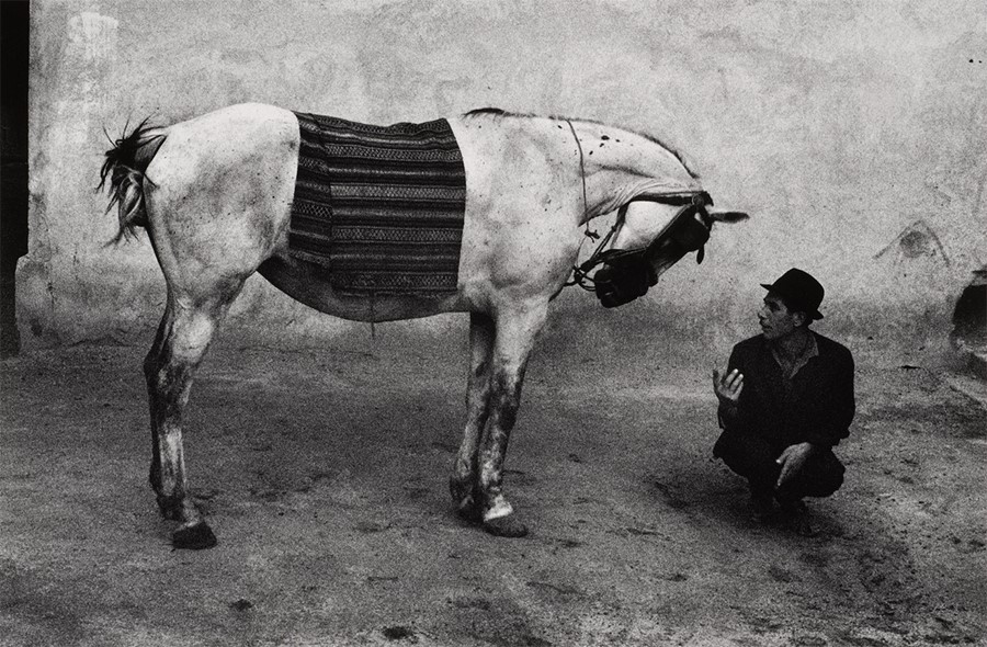 Romania, from the series Gypsies, 1968, printed 1980s. The A