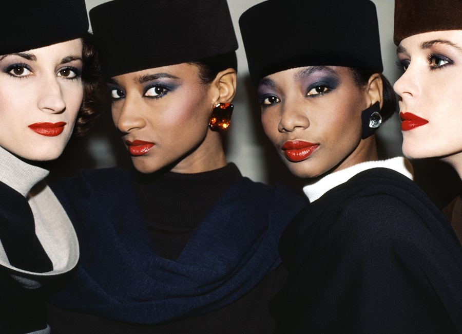 Red lips at Yves Saint Laurent, 1984