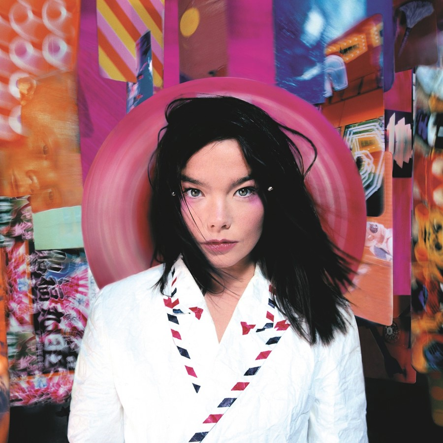 Bjork, Post album cover