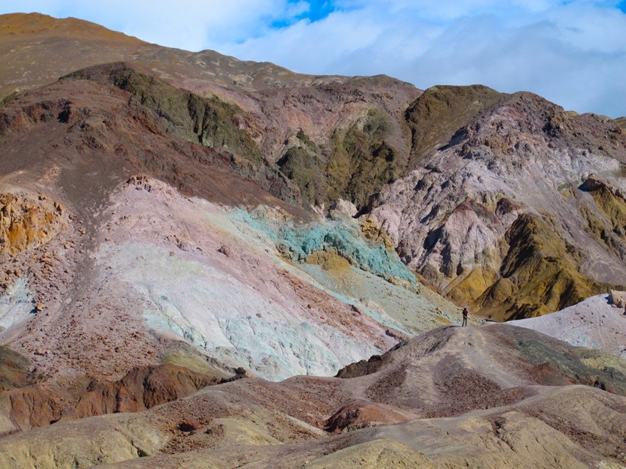 Artist's Palette, Artist's Drive, Death Valley National Park