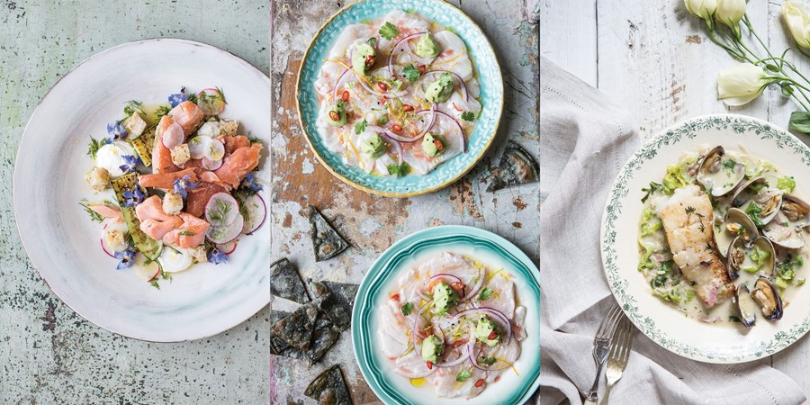 Seafood Dishes by Rosie Birkett