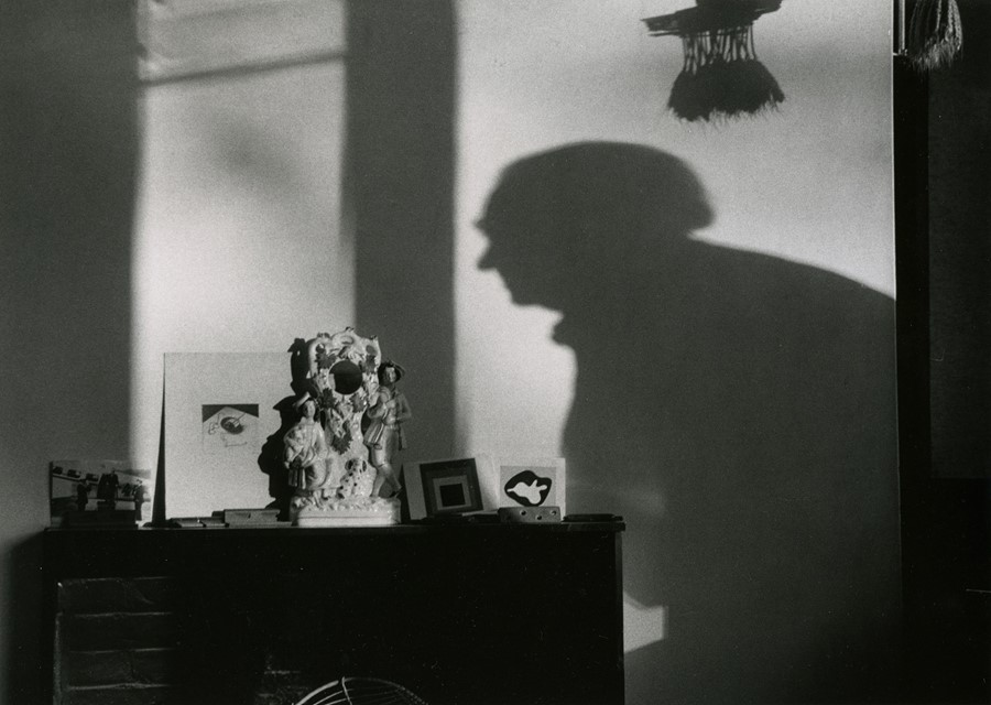 Andre Kertesz, Henry Moore's Shadow, England, 1980