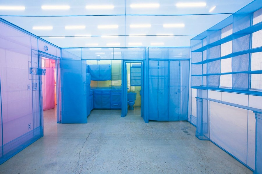 Do Ho Suh, apartment A, corridors and staircases,