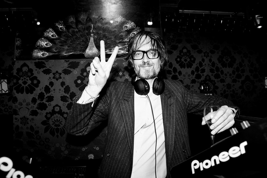 Jarvis Cocker at the Another Man party at LouLou's