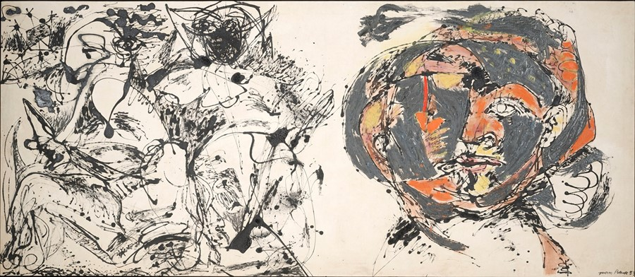 Jackson Pollock - Portrait and a Dream 1953