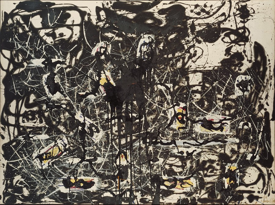 Jackson Pollock - Yellow Islands 1952