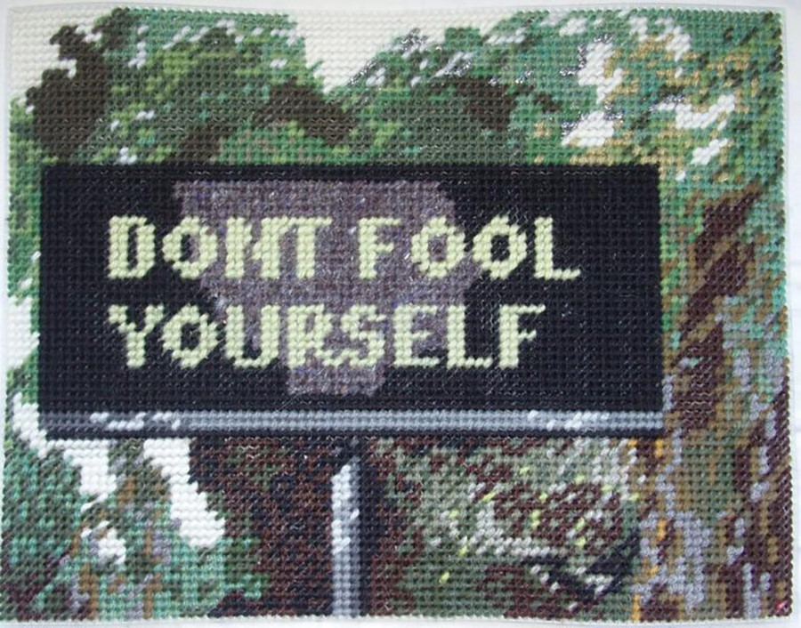 Don't Fool Yourself © Michelle Hamer