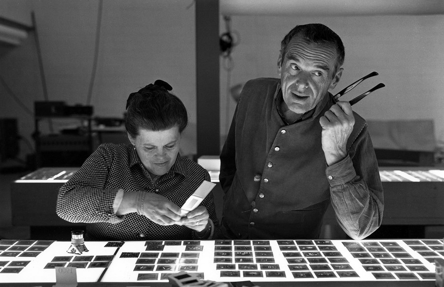 1. The World of Charles and Ray Eames. Charles and