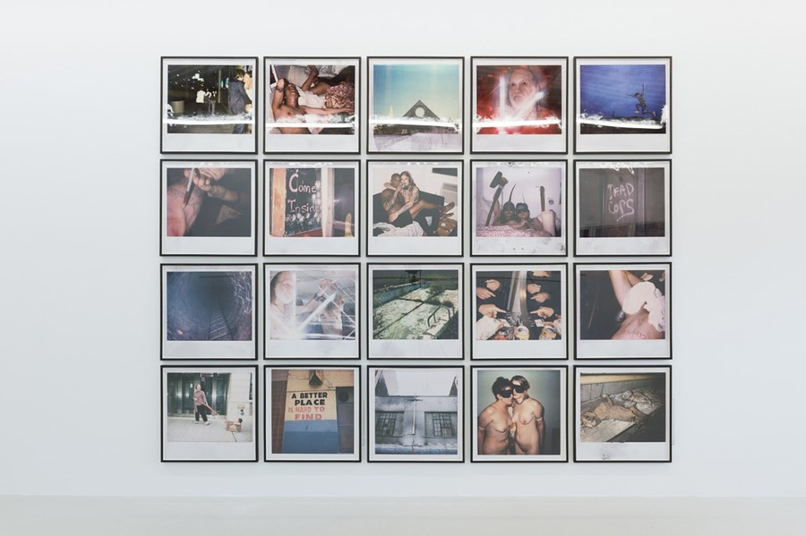 Dash Snow, Polaroid Wall
