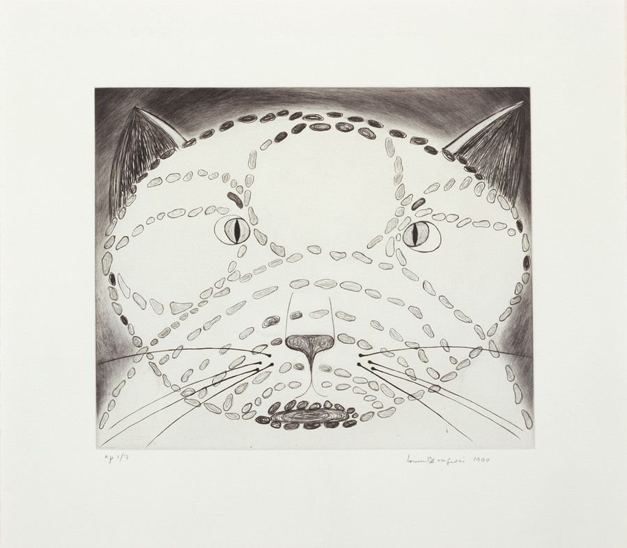 Louise Bourgeois, The Angry Cat, 1999