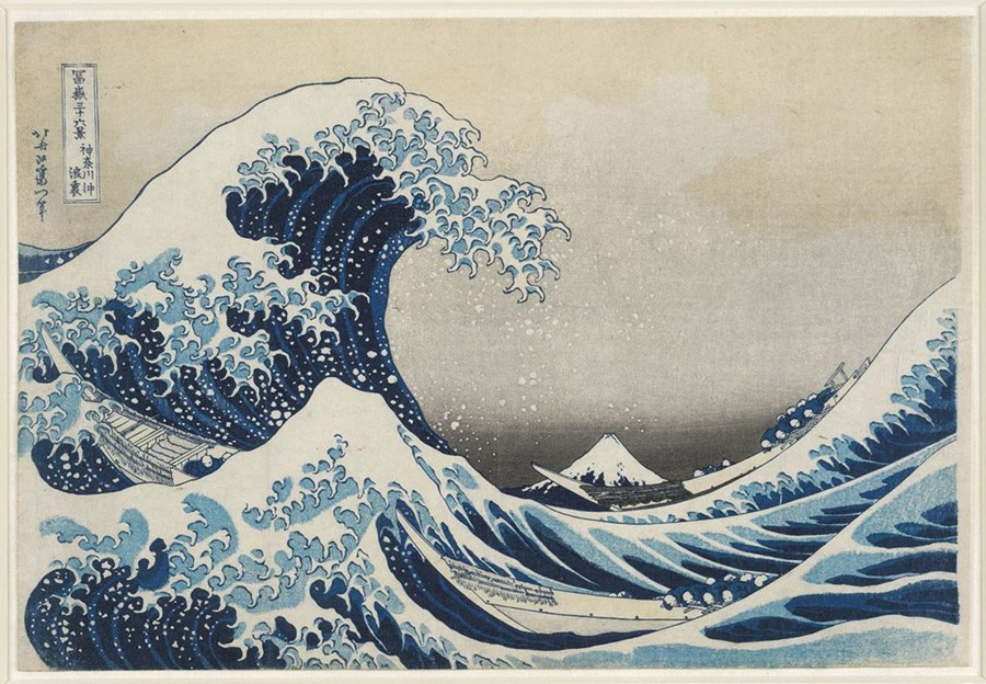 The Japanese Artist Behind the Iconic Great Wave
