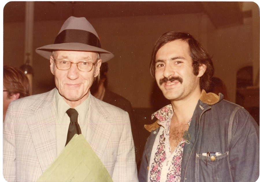 2 William Burroughs, 1975 from 'Paparazzi Self-Por