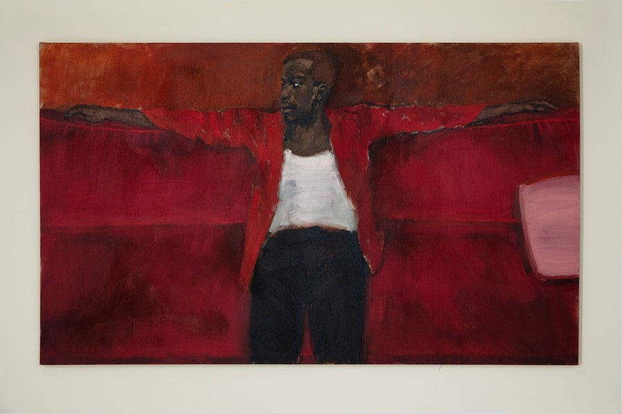 Lynette Yiadom-Boakye paintings The Ventricular 2018